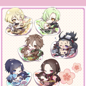 【4.13更新】刀剣男士 アクリルキーホルダー(抱き枕)