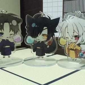 【2018.4.17更新】刀剣男士 アクリルフィギュア(綿菓子)