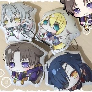 【2018.4.17更新】刀剣男士 ケモミミ抱き枕ストラップ