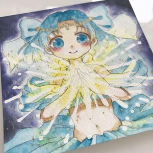 【原画】青色をテーマとした女の子たち【①②】