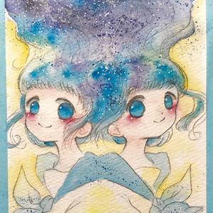 【原画】双子×セーラー