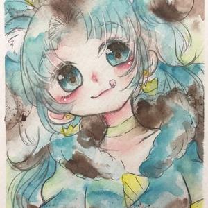 【原画】チョコミントジェラート