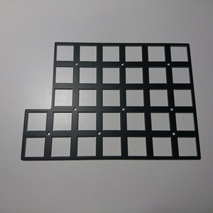 Helix 5 rows PCB トッププレート