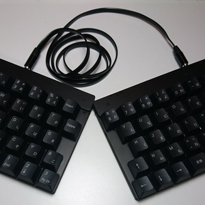 日本語分割キーボード オタクスプリット Otaku Split rev1(実装済み基板)