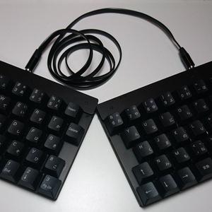 日本語分割キーボード オタクスプリット Otaku Split rev1(キット形式・一部部品別売)