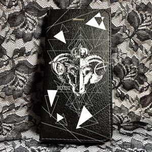 Black&W 手帳型スマホケース
