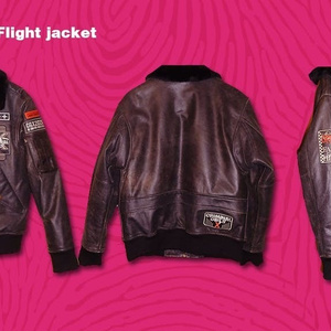 CGX- Flight jacket- 【Overseas use】