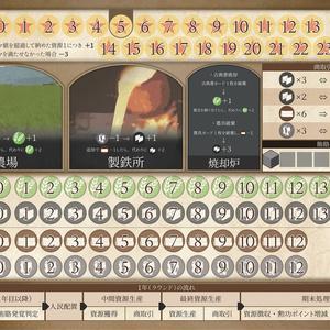 農村大発展(縮小再生産型ボードゲーム)