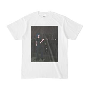 ネコと和解せよ(煙草)Tシャツ