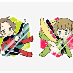【WT】アクリルバッチ