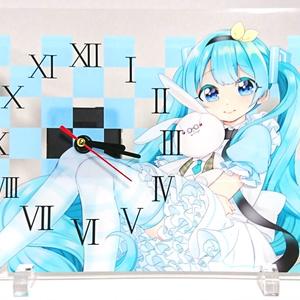 Vocaloid(VOICEROID) アクリルクロック