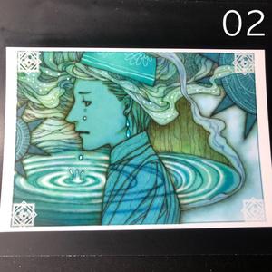 銀の星ポストカード02
