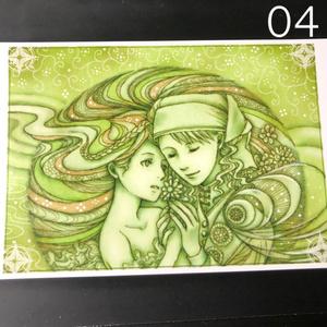 銀の星ポストカード04