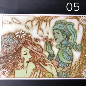 銀の星ポストカード05