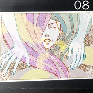 銀の星ポストカード08