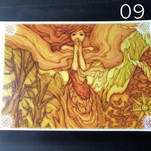 銀の星ポストカード09
