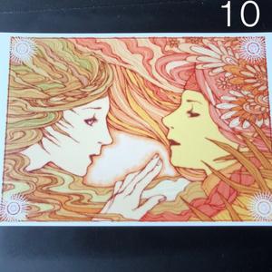 銀の星ポストカード10