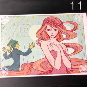 銀の星ポストカード11
