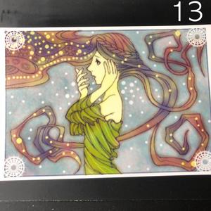 銀の星ポストカード13