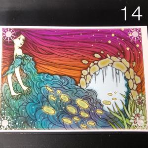 銀の星ポストカード14