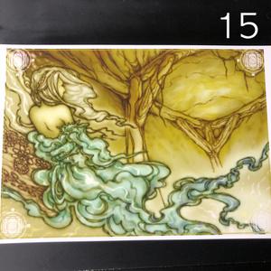 銀の星ポストカード15