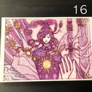 銀の星ポストカード16