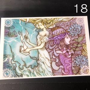 銀の星ポストカード18