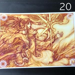 銀の星ポストカード20