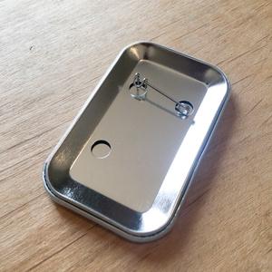 ミモザ缶バッジ(Button Badge