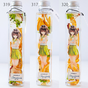 植物標本少女 ハーバリウム オレンジ
