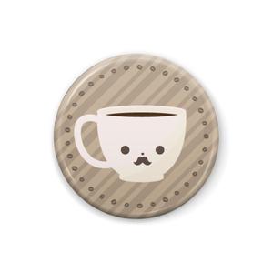 コーヒーカップさん [缶バッジ]