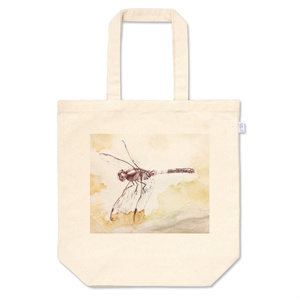 蜻蛉ナチュラルトートバッグ