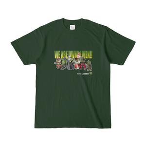 イケドワTシャツ(ダークグリーン)