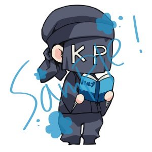 TRPGのKP立ち絵素材