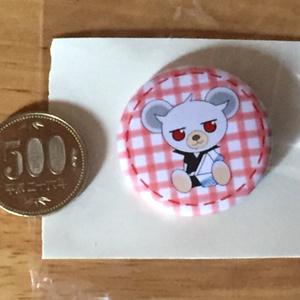 坂田銀時_クマ_オリジナル缶バッジ