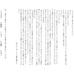 小説サンプル共通模紙(模範解答)