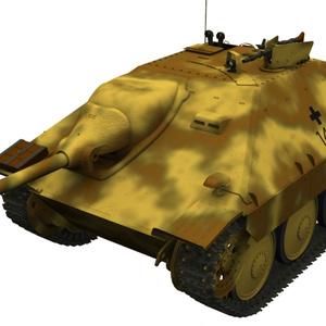 【Shade3D】駆逐戦車ヘッツァー初期型