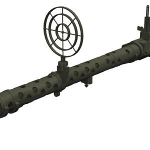 【Shade3D】MG34機関銃