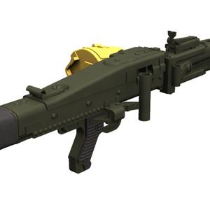 【Shade3D】MG42機関銃