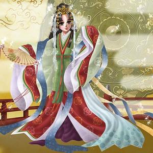 ポストカード「五節の舞姫」