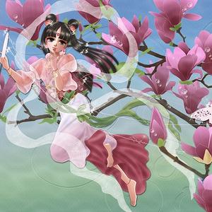 ポストカード「春彩紡ぎ(はるいろつむぎ)」