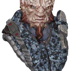 Mercenary 1/7 バストキット
