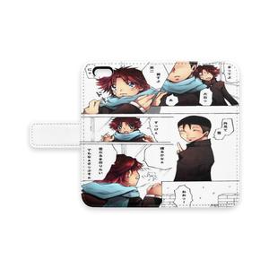 手帳型iPhoneケース - iPhone 6 / 6s