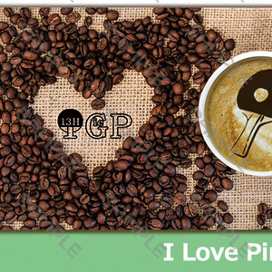 I Love Ping-Pong Tシャツ-白