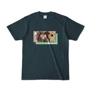 I Love Ping-Pong Tシャツ-薄紺