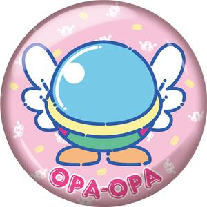 【ハチゼロキッズ】「ファンタジーゾーン」オパオパ/80年代ファンシーグッズ風缶バッジ/44mm/送料込み