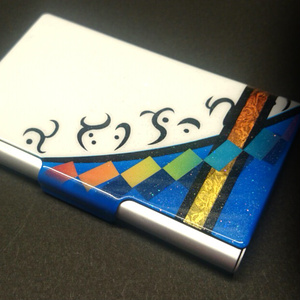 東方デザインカードケース/名刺ケース【比那名居 天子】(塗装品)