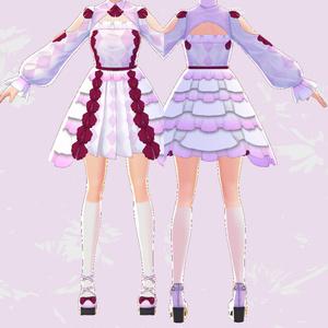 ワンピース(FancyXX)【VRoid用テクスチャ】