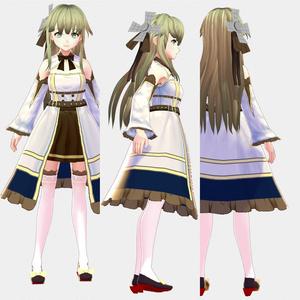 オーロラ【3Dモデル】