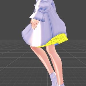 制作用インナースカート【3Dモデル用】